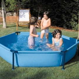 Piscina desmontable Gre Junior hexagonal WET230
