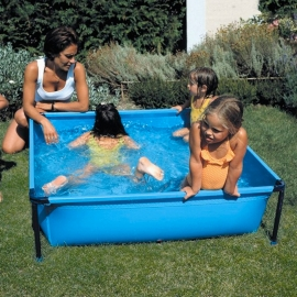 Piscina desmontable Gre Junior cuadrada Y25
