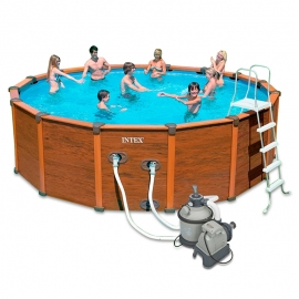 Piscina Intex Sequoia - Set completo