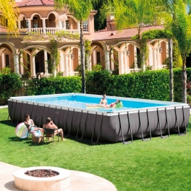Piscina metálica Intex Ultra 975  Set completo