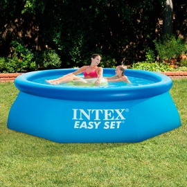 Piscina hinchable Intex Easy Set Hexagonal 244