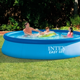 Piscina hinchable Intex Easy Set 366 x 76 + Depuradora