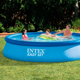 Piscina hinchable Intex Easy Set 396 x 84