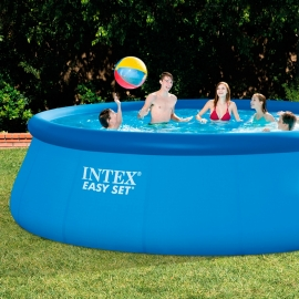 Piscina hinchable Intex Easy Set 457 x 122
