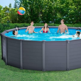 Piscina Intex Graphite - Set completo