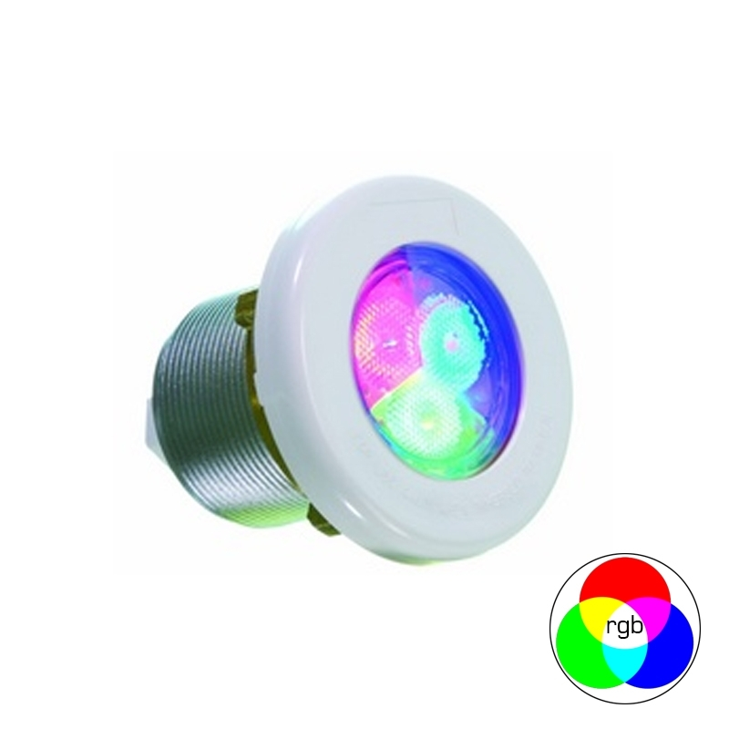Foco led lumiplus mini rgb spas y piscina prefabricada - Foco led piscina ...