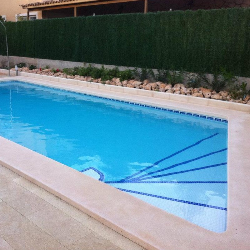 Gresite blanco para piscinas awesome piscina with gresite for Piscinas con gresite blanco