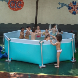Piscina desmontable IASO Flipper-4