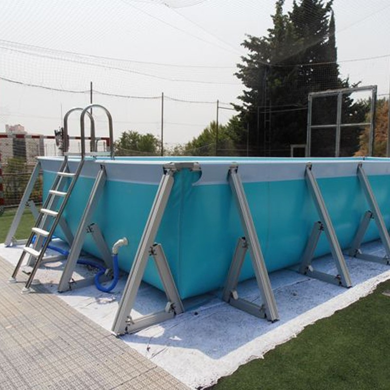 Piscina desmontable iaso plus 1 for Montar piscina desmontable