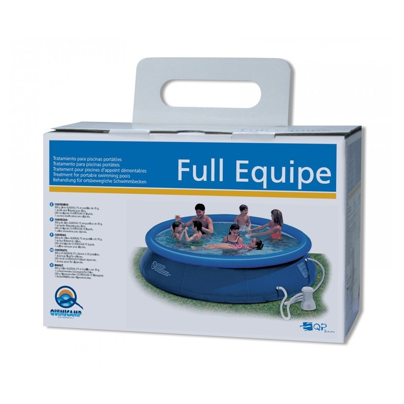 Trantamiento para piscinas port tiles full equipe for Piscinas pequenas portatiles