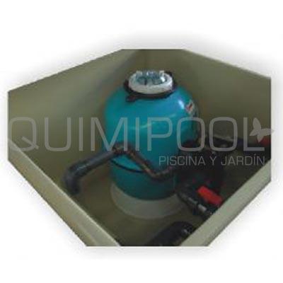 Equipo depuradora para piscina con filtro neptuno 500 for Depuradoras para piscinas