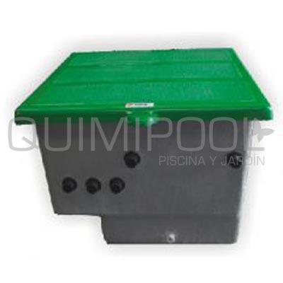 Equipo depuradora piscina filtro alaska 600 imagen 3 for Caseta depuradora piscina