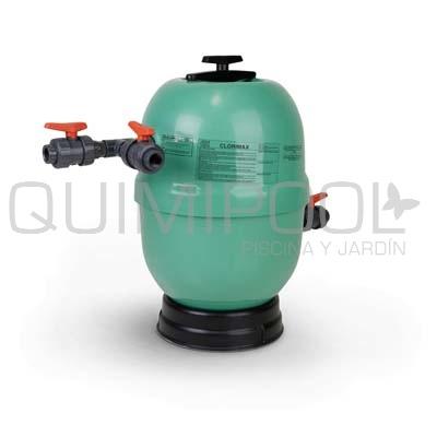 Dosificador de cloro y bromo clorimax 60lts for Bromo para piscinas
