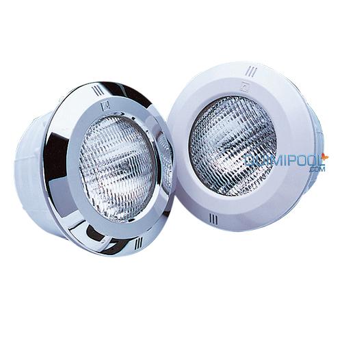Iluminacion para piscinas proyector con nicho 300w for Foco piscina