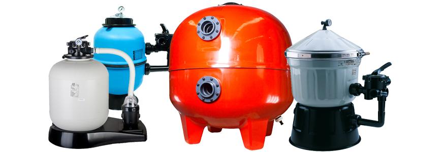 tipos de filtros de depuradoras para piscinas