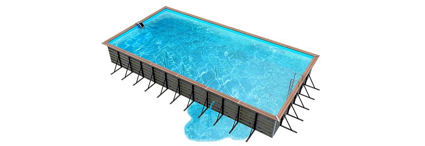 pérdida de agua en la piscina