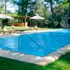 Manta protección piscina