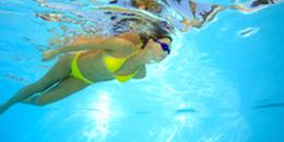 No cloro piscina